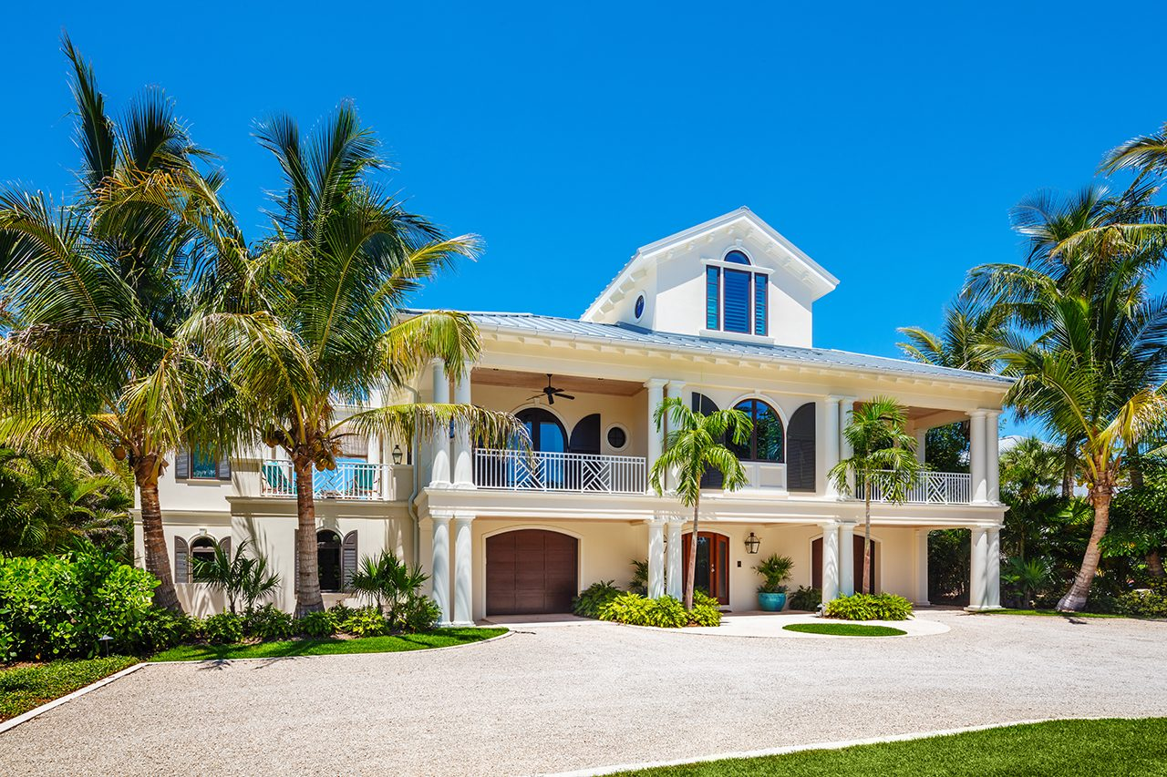 1 - Island Georgian - Boca Grande - Waterfront Home