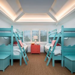 10 - Island Georgian - Boca Grande - Kids Bedroom